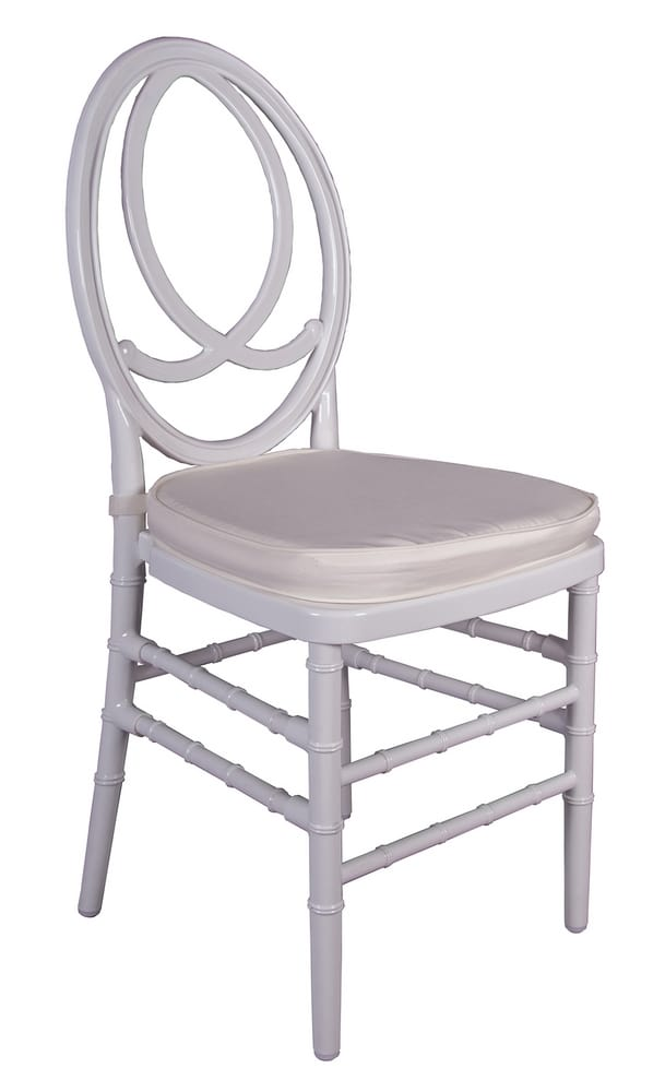 VERSAILLES - Chiavari banquet chairs in clear plastic