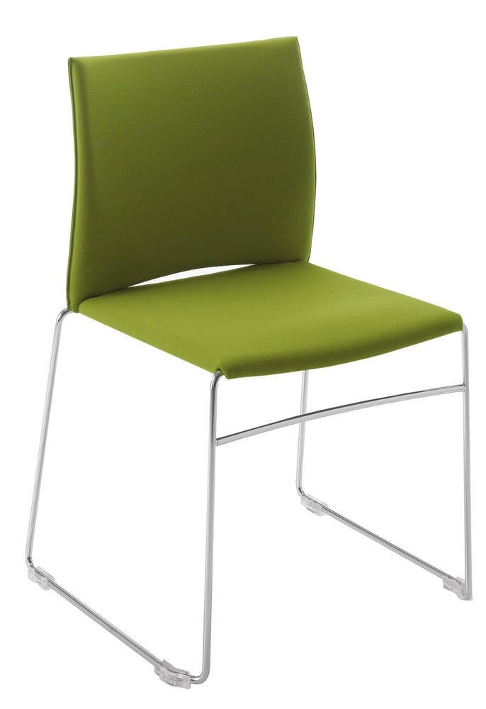 Upholstered chair for conference and meeting